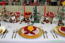 Christmas Table Setting Easy Festive Christmas Table Settings