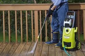 Image result for How to Pressure-Wash a Wood Deck