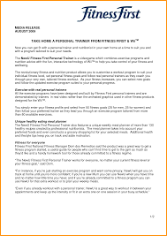 Personal Trainer Resume Free Resume Example And Writing Download