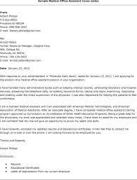 Medical Administrative Cover Letter Under Fontanacountryinn Com