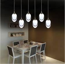 Aliexpress.com : Buy Restaurant Novelty egg led Lighting Modern Led Acrylic  pendant Lamp 15 30W led strip indoor lighting Dining Room Pendant Lights  from ...