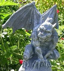 gargoyles for garden ideas