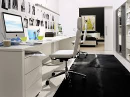 white home office home officestunning black and white home office chair design with leatherette cushions home black desk white home office