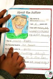writing an book first grade friends books authors and students