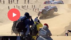 Incidente di Alonso alla Dakar 2020: video spaventoso ...