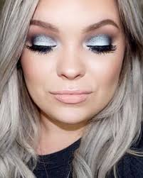 icy blue y eyes makeup tutorial