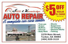 Auto Repair Flyer Auto Repair Flyer Enjera Resturant
