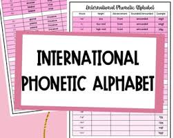 • dialectal and individual differences affect pronunciation, but the phonetic alphabet. Phonetics Etsy