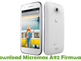 Download Micromax A92 Firmware - Stock ...