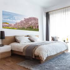 Großhandel 3d New Sakura Bett Nacht Aufkleber Landschaft