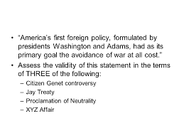 "response essay ""america s first foreign policy formulated  2 ""america s first foreign policy"