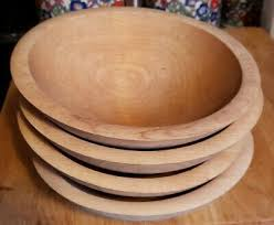 wood bowls made in vermont set of 6 salad 8 inches usa wooden