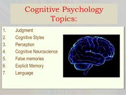 psychology term paper topics children s understanding of emotions 9 cognitive psychology topics
