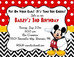 Sly printable mickey mouse invitations – Mason Website