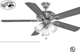 Hampton Bay Ceiling Fan Receiver Manual