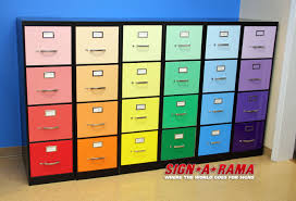 filing cabinet wrap – before and after pics  the signs of business
