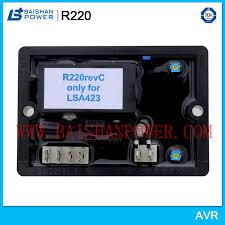 China <b>Automatic Voltage</b> Regulator Leroy Somer <b>AVR R220</b> Leroy ...
