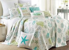 Amazon.com: Biscayne King Quilt Set Aqua Coastal: Home & Kitchen &  Adamdwight.com