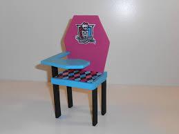 Monster High Furniture School Desk 1 by monsterminicustoms on
