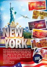 Free Travel New York Flyer Psd Template By Styleflyer Com Is