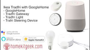 Ikea Tradfri With Googlehome