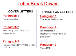 Formal Business Writing Cover Letters Thank You Letters 1 Mrs