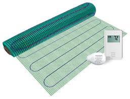 warmlyyours floor heating kit 120v easy mat non programmable