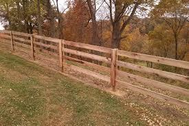 wood farm fence. 3 \u0026 4 Board Agricultural Farm Fence Wood