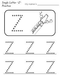Letter Z Worksheets to Print   Kids Worksheets Printable ...