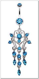 chandelier dangle belly rings