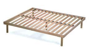 Bed Frame ~ Cal King Wood Slat Bed Frame Wood Slat Bed Frame Vs Box ...