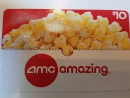 10 amc theatres gift card 1 of 1 see more