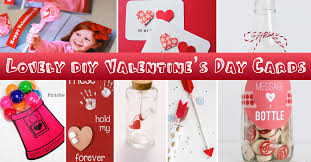 25 lovely diy valentine s day cards and gifts