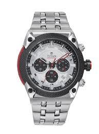 titan octane men metal watch 90030km03