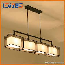 quality 2 3 4 heads lights cord light fixture modern nordic cloth hanging lamp pendant sitting dinning room fabric hanging light contemporary pendant light