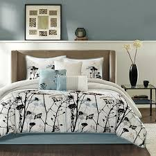 beautiful cozy chic light blue grey
