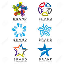 Logos With Stars Star Icons And Logos Collection Star Logo Template Best Stars