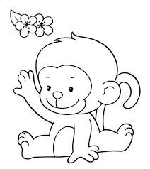Top 25 free printable monkey coloring pages for kids. Top 25 Free Printable Monkey Coloring Pages For Kids