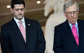 Image result for Trump and mcConnell/ryan