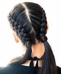 double french braids for it s everywhere
