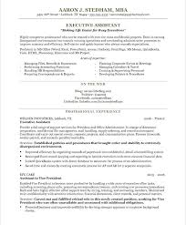 personal care assistant resume sample executive assistant resume sample  executive resume sample format word