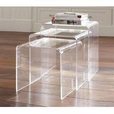 Image of: Acrylic Coffee Table Type
