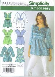 Tunic Pattern Inspiration Simplicity 448 Ladies Tunic Sewing Pattern 48 48 For Sale
