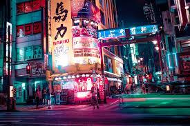 Japan #Tokyo #night #urban #lights ...