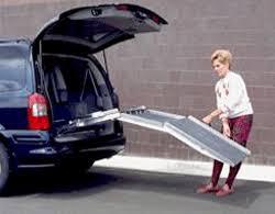 handicap ramps for minivans. hitch mounted van ramp handicap ramps for minivans a