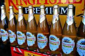 kingfisher premium one of the por indian beers