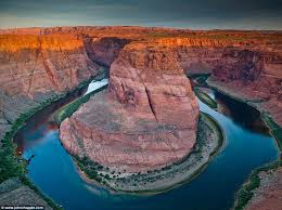 predictable history unpredictable past world s most beautiful  award winning this image of the colorado river meandering around horseshoe bend near