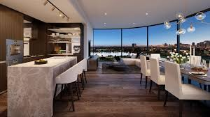 The trick to appealing to the elite lies in creating spacious apartments  with a connection to