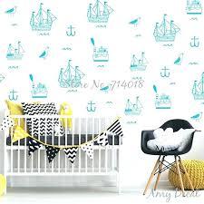 nautical wall stickers nursery