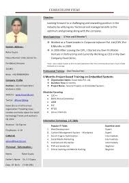 New Resume Formats